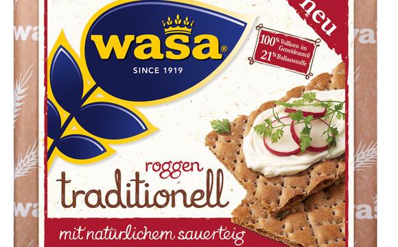 Brot und Backwaren - Silber: Wasa Roggen traditionell / Barilla Deutschland