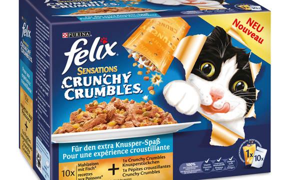 Felix Sensations Crunchy Crumbles / Nestlé Purina Petcare