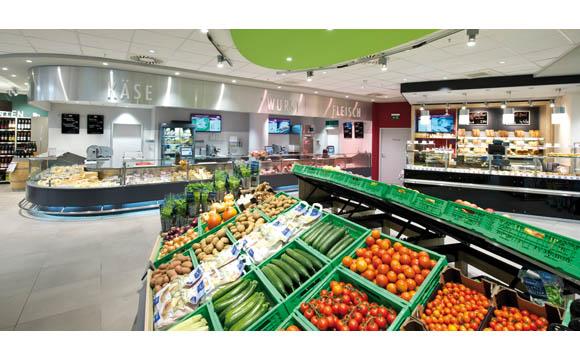 Bio-Markt an herausforderndem Standort