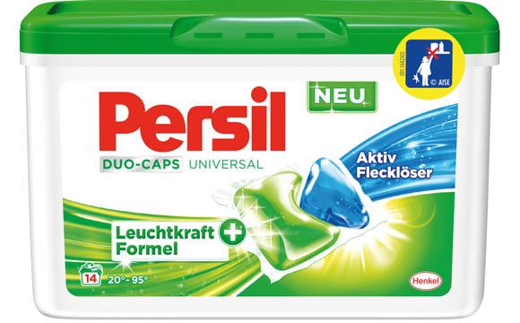 Persil Duo-Caps mit Leuchtkraftformel + / Henkel