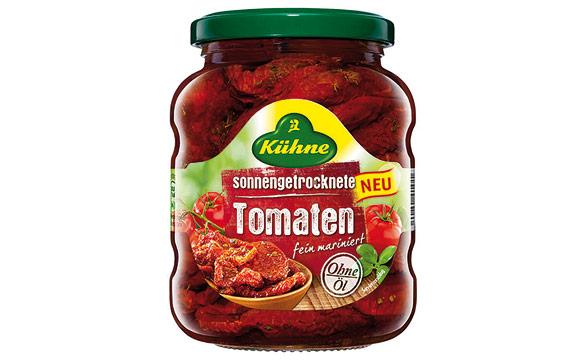 Obst und Gemüse - Bronze: Sonnengetrocknete Tomaten / Carl Kühne