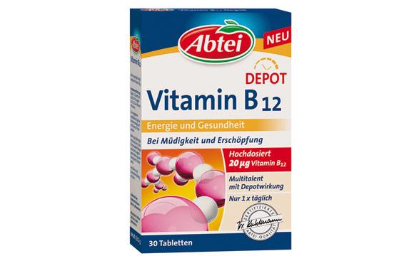 Abtei Vitamin B12 Depot / Omega Pharma Manufacturing