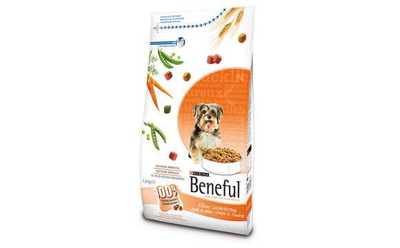 Tiernahrung und -bedarf - Bronze:Beneful Kleine Leckerbissen / Nestlé Purina Petcare