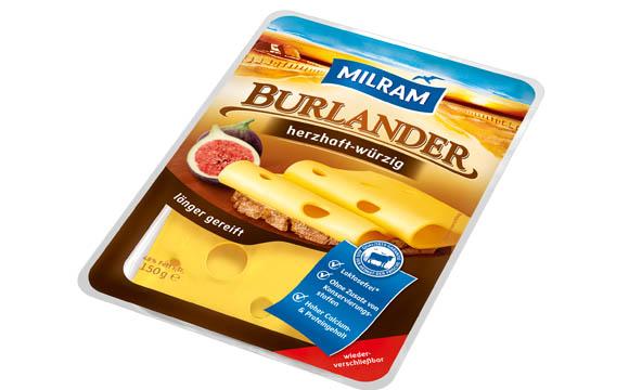 Milram Burlander herzhaft-würzig / DMK Deutsches Milchkontor
