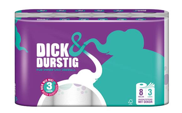 Dick & Durstig Haushaltstücher / Hakle