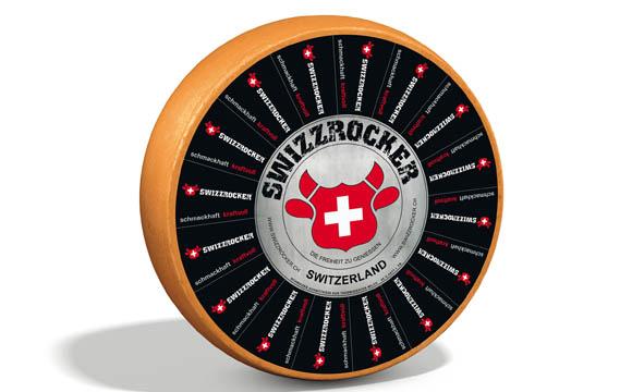 Schweizer Käse mit neuer Marke