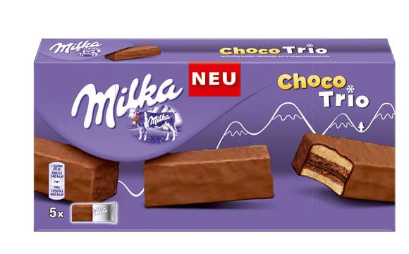Milka Choco Trio / Mondelez Deutschland Services
