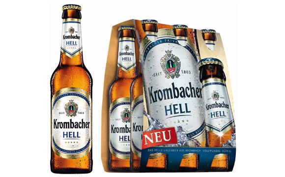 Bier - Bronze:Krombacher Hell / Krombacher Brauerei