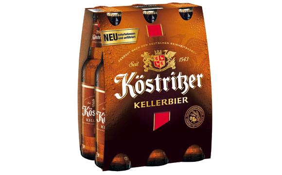 Bier - Silber: Köstritzer Kellerbier / Bitburger Braugruppe