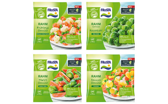 Frosta Rahm Gemüse / Frosta Tiefkühlkost