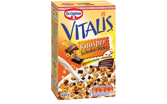 Dr. Oetker Vitalis Knusper Schoko + Keks / Dr. August Oetker Nahrungsmittel