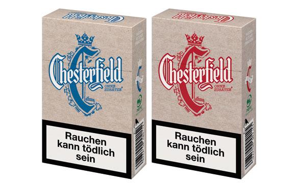 Chesterfield Ohne Zusätze OP-L-Box / Philip Morris
