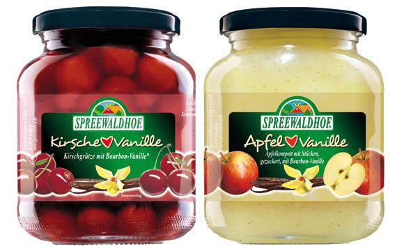 """Obst und Gemüse - Gold: Spreewaldhof """"Apfel liebt Vanille"""" / Spreewaldkonserve Golßen"""