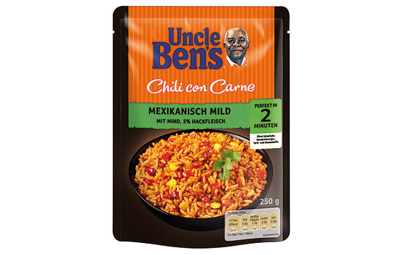 Uncle Ben's Express-Reis Chili con Carne / Mars