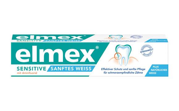 Elmex Sensitive sanftes Weiß / CP Gaba