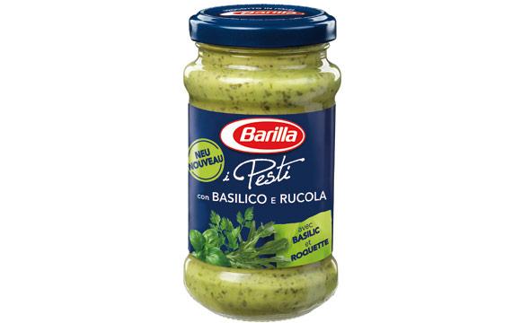 Barilla Pesto Basilico e Rucola / Barilla Deutschland