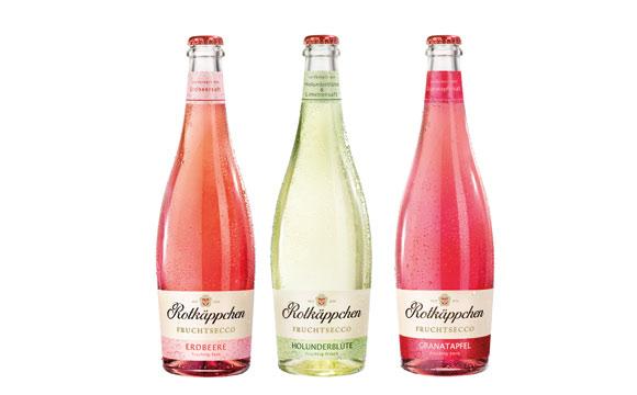 Wein / Sekt / Champagner - Gold: Rotkäppchen Fruchtsecco / Rotkäppchen-Mumm Sektkellereien