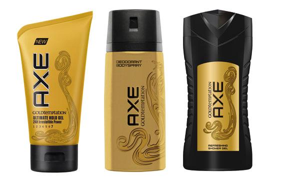 Axe Gold Temptation / Unilever Deutschlad
