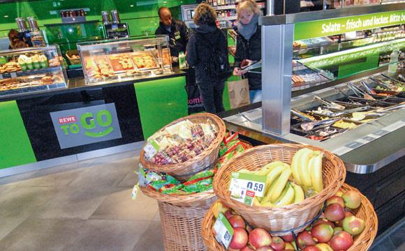 Rewe Group:Neu im Wuppertaler Hauptbahnhof