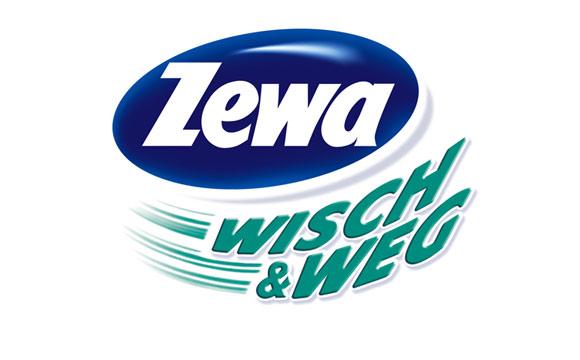 Zewa Wisch&Weg: Mit einem Wisch ist alles weg.