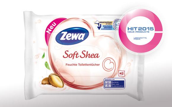 Perfekte Pflege mit den feuchten Toilettentüchern von Zewa