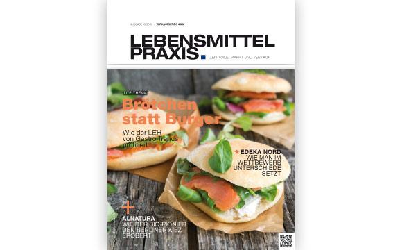 Ausgabe 13 vom 14. August 2015: Brötchen statt Burger