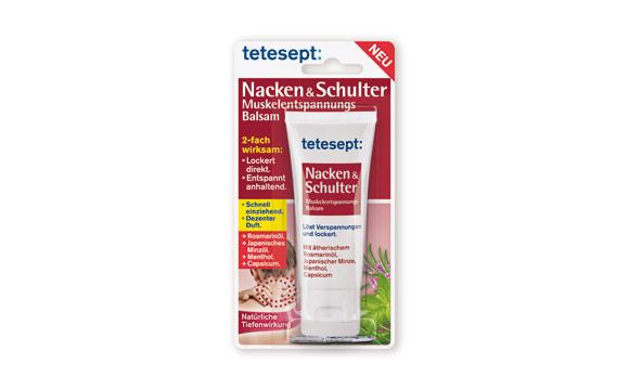 Tetesept Muskelentspannungs-Balsam Nacken & Schulter / Merz Consumer Care