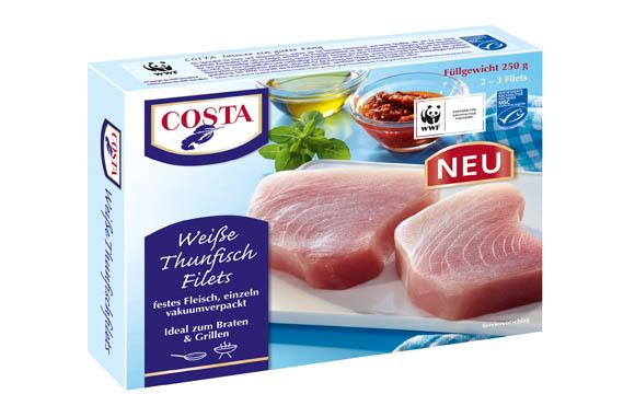 Costa Weiße Thunfischfilets / Apetito Convenience