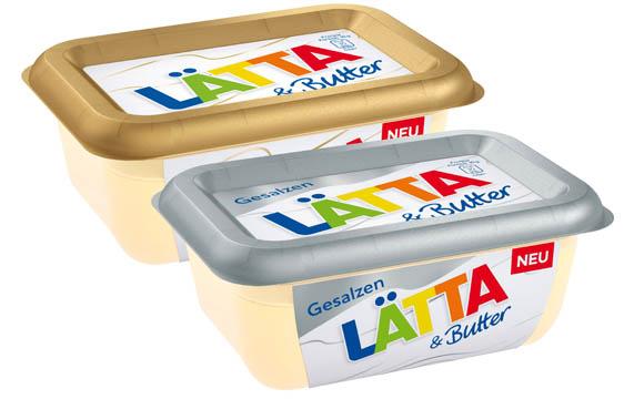 Margarine, Öle, Fette, Butter - Silber: Lätta & Butter / Unilever Deutschland