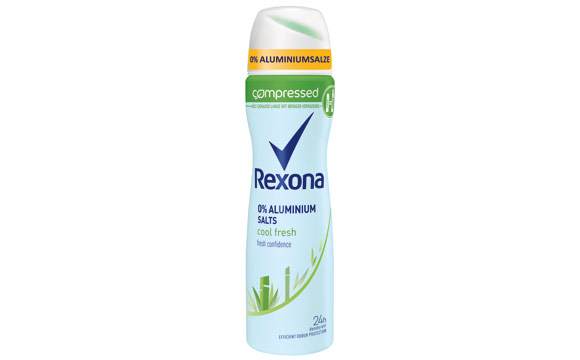 Rexona Cool Fresh Compressed Deodorant / Unilever Deutschland