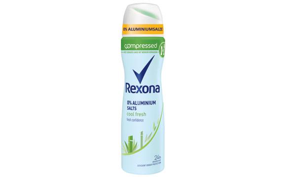 Rexona Cool Fresh Compressed Deodorant / Unilever Deutschland