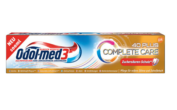 Mundhygiene - Gold: Odol-med 3 Complete Care / GlaxoSmithKline