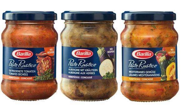 Barilla Pesto Rustico / Barilla Deutschland