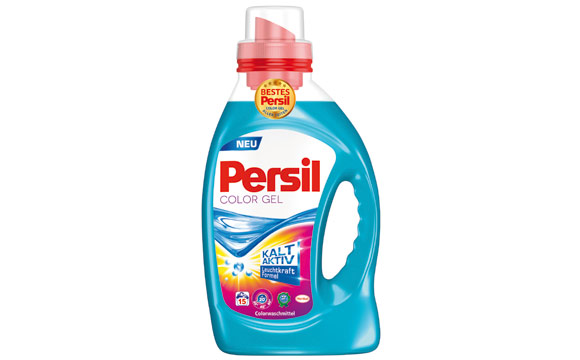 Waschmittel - Gold: Persil Color Gel / Henkel