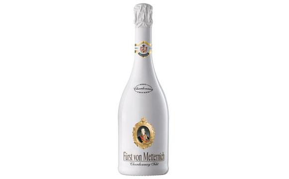 Wein / Sekt / Champagner - Gold:Fürst von Metternich Chardonnay Sekt / Henkell & Co. Sektkellerei
