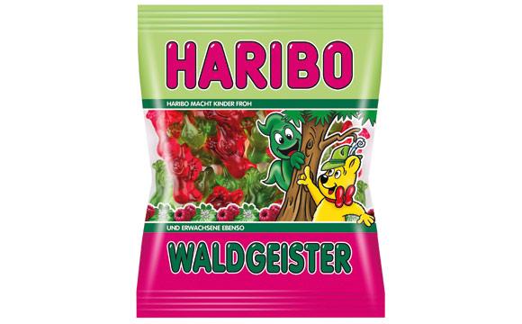 Zuckerwaren - Gold: Haribo Waldgeister / Haribo