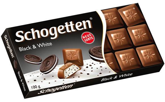 Schogetten Black & White / Ludwig Schokolade