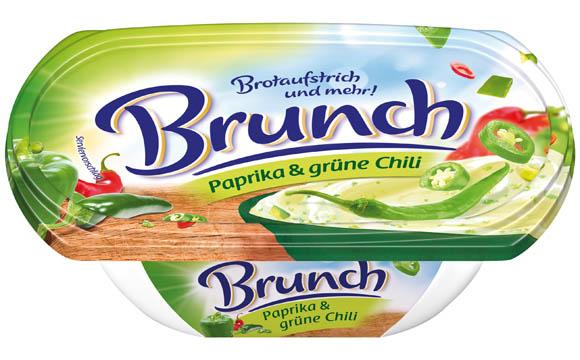 Margarine, Öle, Fette, Butter - Bronze: Brunch Paprika & grüne Chili / Edelweiss