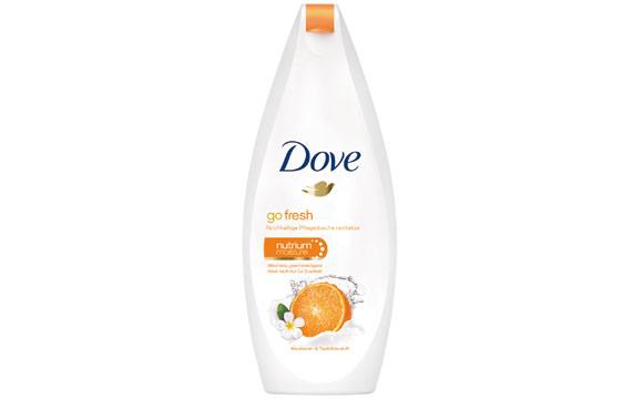 Dove go fresh Mandarine und Tiaréblütenduft / Unilever Deutschland