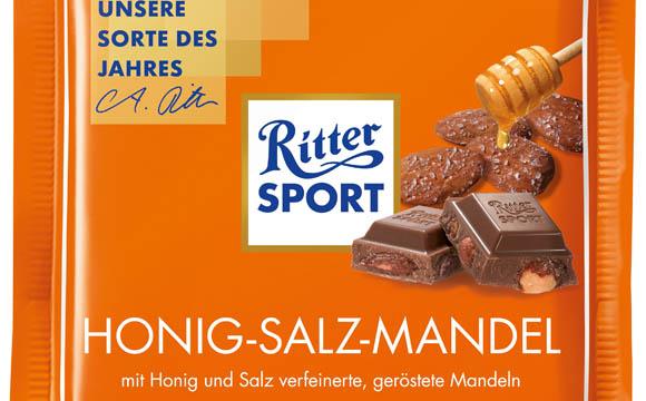 Ritter Sport Honig-Salz-Mandel / Alfred Ritter