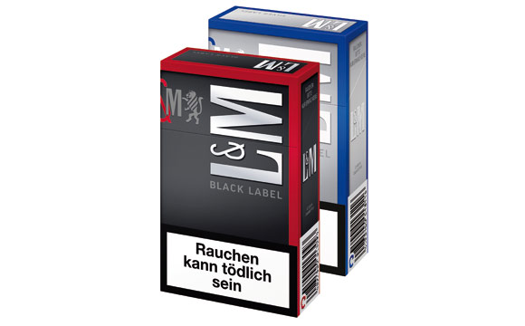 L&M Black Label und Silver Label / Philip Morris