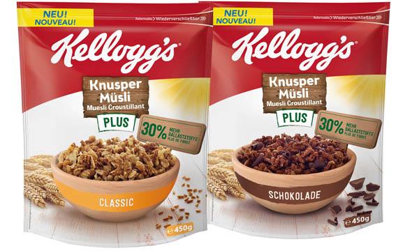 Kellogg's Knusper Müsli Plus / Kellogg