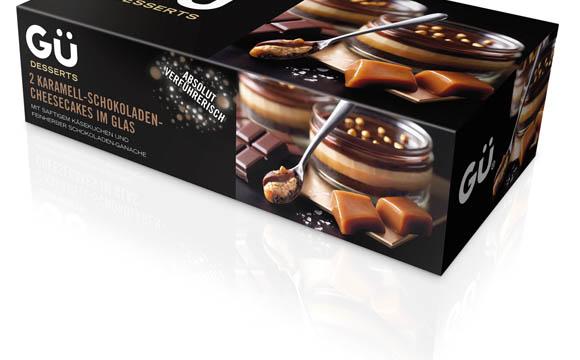 GÜ Desserts Karamell-Schokoladen-Cheesecake / Uplegger Food Company