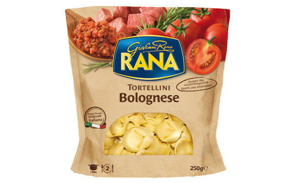 Chilled Food - Bronze: Giovanni Rana Tortellini Bolognese / Giovanni Rana Deutschland