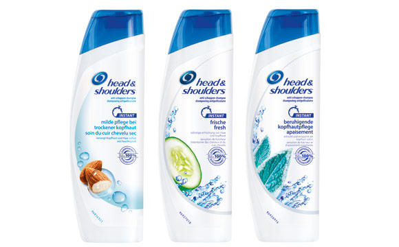 Head & Shoulders Instant Shampoo / Procter & Gamble Germany