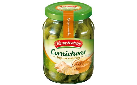 Cornichons Ingwer-würzig / Hengstenberg