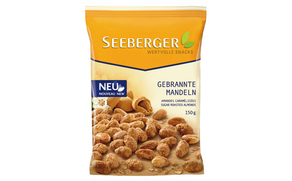 Gebrannte Mandeln / Seeberger