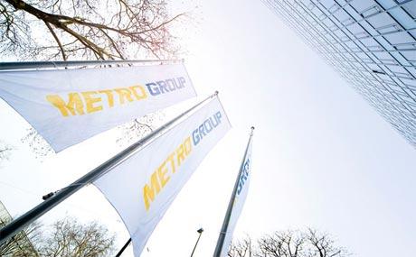 Metro:Erlöse sinken, Gewinn legt zu