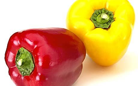 Pestizide bei Paprika