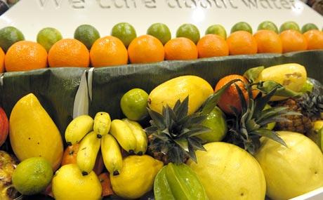 Fruchtbranche: Wasser weltweit knappe Ressource